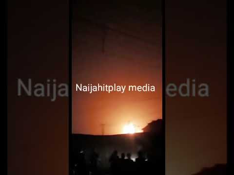 Pipeline explosion: Breaking, Fire Outbreak At Abule-egba (Video)