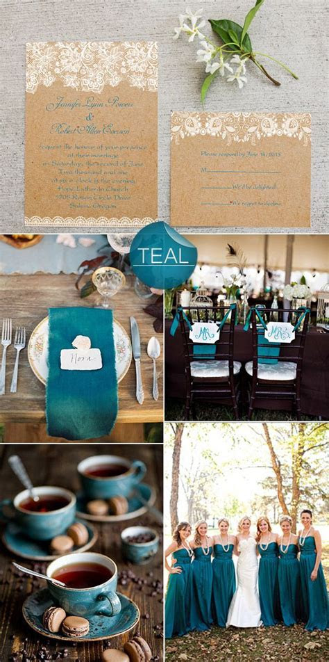 Best 25  Teal rustic wedding ideas on Pinterest   Teal