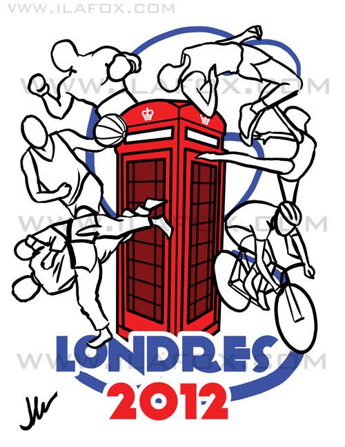 Ilustração Londres 2012