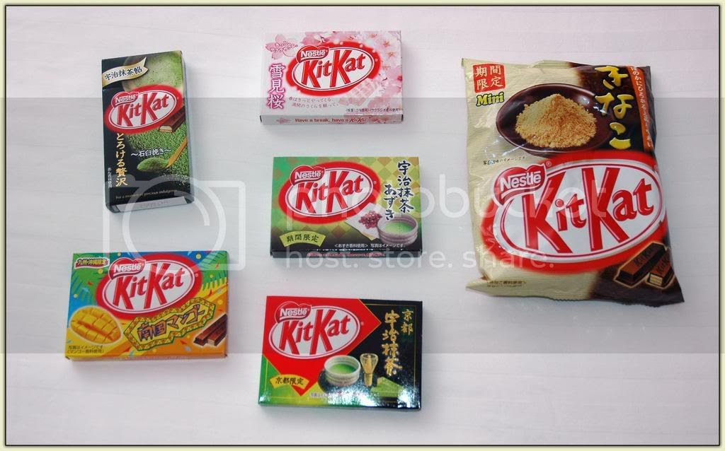 Assorted KitKats
