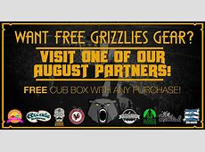 Grizz Essentials Cub Box Trivia Giveaway!   Grizzly Bear Blues