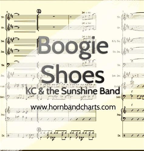 Boogie Shoes Horn Chart PDF   Horn Band Charts