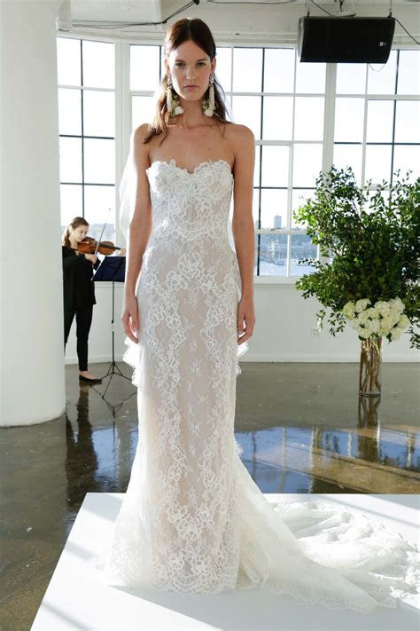 marchesa bridal fall  collection  vogue