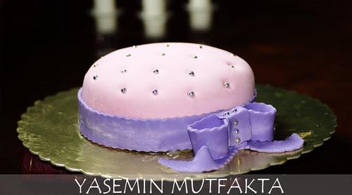 Pembe Süslü Pasta