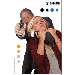 Law Enforcement Targets   Action Target : Hostage Targets