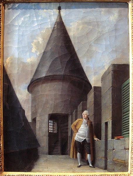 File:Louis XVI at the Tour du Temple Jean Francois Garneray 1755 1837.jpg