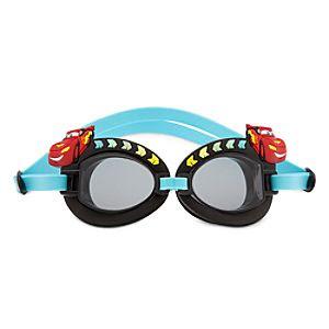 Lightning McQueen Swim Goggles for Boys