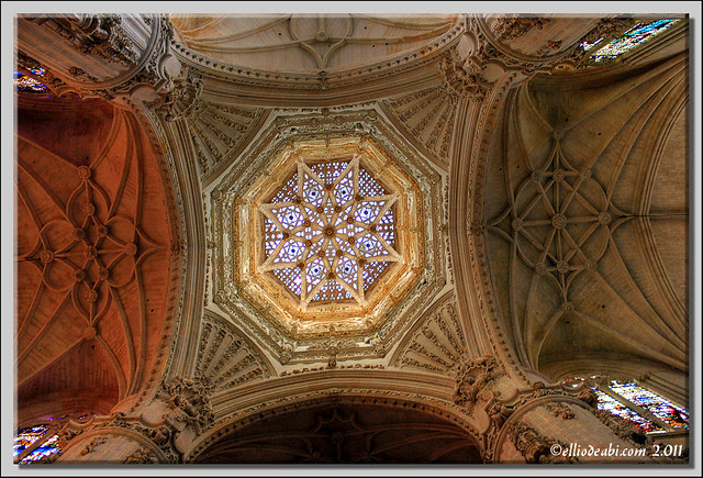 Cúpula central de la Catedral de Burgos