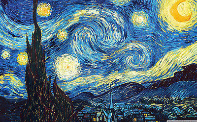 Image result for vincent van gogh starry night original painting