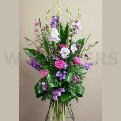 Funeral Standing Spray in Lavender Color   W Flowers