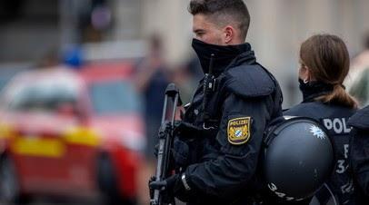 Полиция ФРГ получила данные об опасной ситуации в синагоге