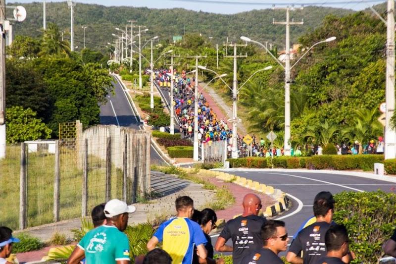 Sexta edição da Meia Maratona do Sol tornou-se uma grande festa pra atletas e não corredores também