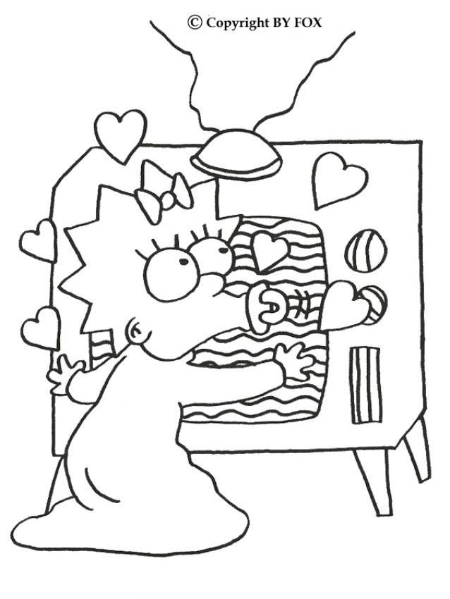 Dibujos Para Colorear Maggie Adora La Telé Eshellokidscom