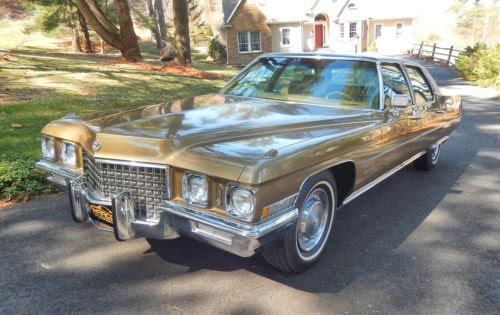 Find used 1971 Cadillac Fleetwood Brougham in