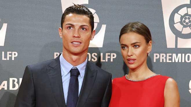 Cristiano e Irina Shayk se separan.