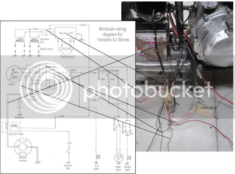 Minimum Wiring Diagram Help Xjbikes Yamaha Xj Motorcycle Forum