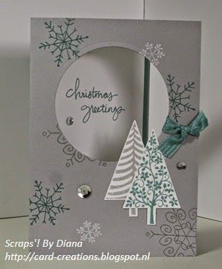 Scraps'! by Diana #Stampin'Up! #endlesswishes #festivaloftrees Stampin' Up!