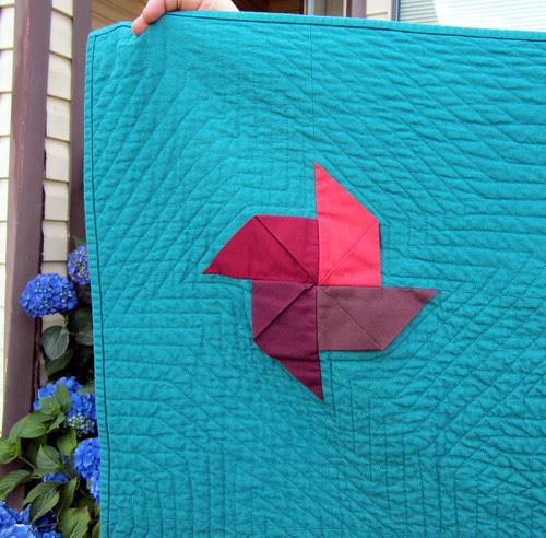 kona pinwheels detail red