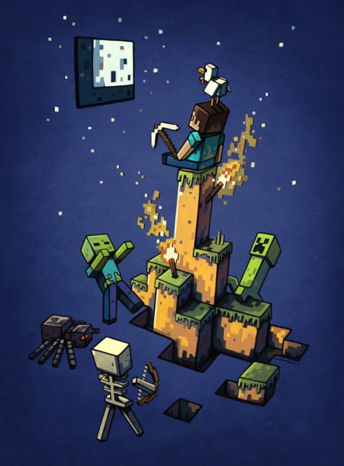 Minecraft by Stan Loiseaux