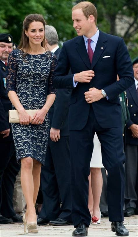 William and Kate: The couple attend friend's wedding on