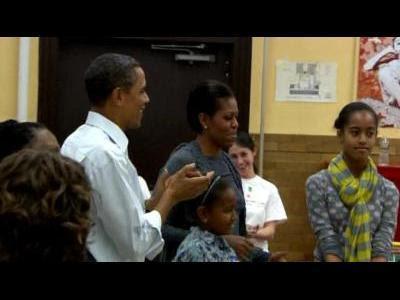 Obama's mark King Holiday