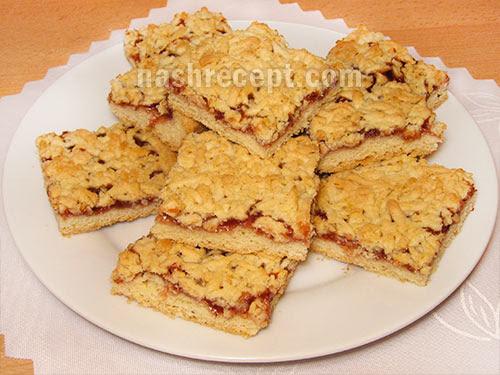 Песочное печенье с джемом рецепты с фото
