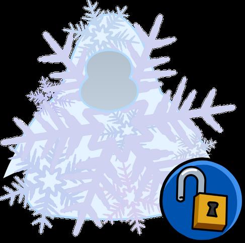 קובץ: סמל בגדי Snowflake תלבושות מזהה 14465.PNG
