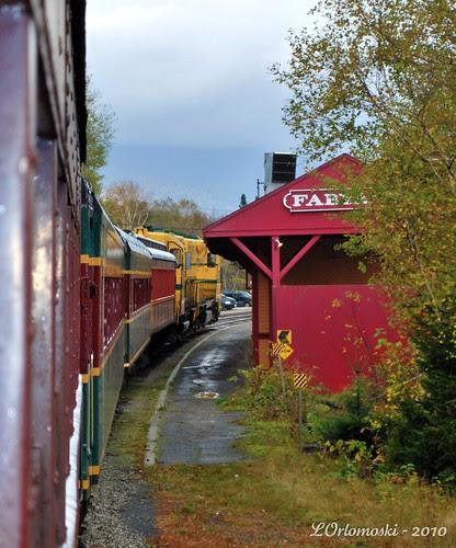 The Notch Train Leaving Fabyans Station