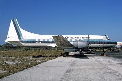 Eastern Airlines Convair 440-86 N9314 (msn 428) FLL (Bruce Drum). Image: 102817.