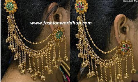 Bahubali ear rings   Fashionworldhub