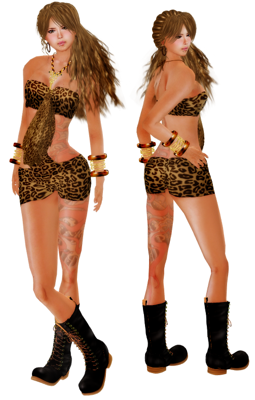 ::HH:: Hucci Xotic Dress - Kitty