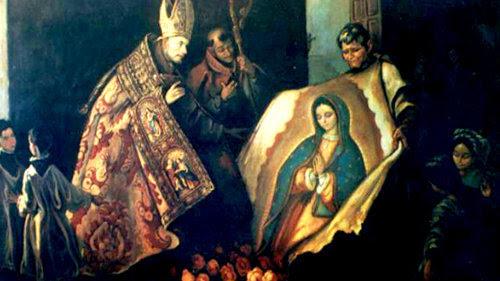 El obispo Zumárraga y la Imagen Milagrosa de Guadalupe