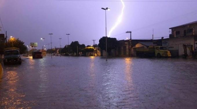 Semana tem previsão de chuvas em todo RN