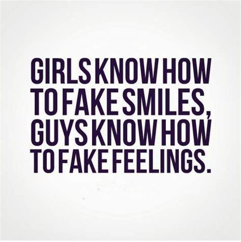 Girl Fake Smile Quotes