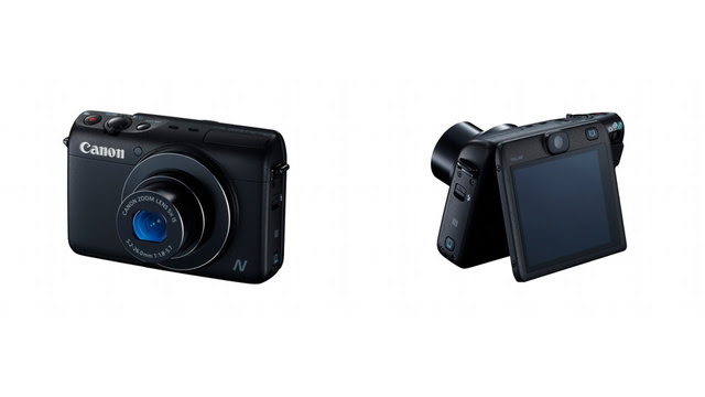 Canon PowerShot N100 Has Two Cameras So You Can Take Frontback Photos