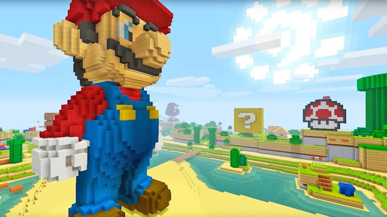 Minecraft Wii U Editions New Mash Up Pack Celebrates 30