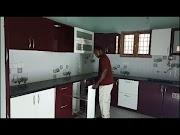 BERRY BUNCH Colour High Gloss Finish for Ramya Modular Kitchen, Mr. Bask...