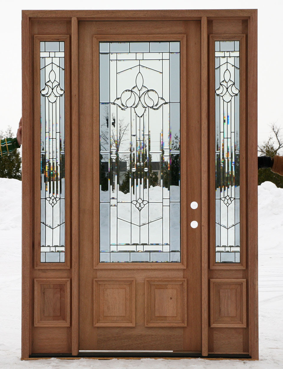 Steel Entry Doors With Side Lights