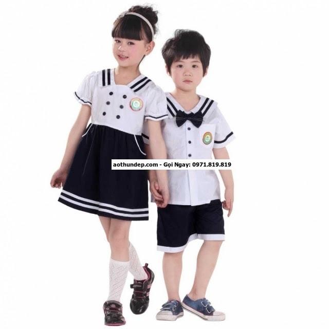 đồng phục học sinh tiểu học của việt tiến