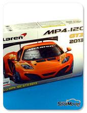 Maqueta de coche 1/24 Fujimi - McLaren MP4-12C GT3 2013 - maqueta de plástico