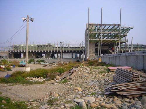 新烏日站一景