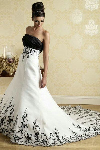 black and white wedding dresses   Buy cheap Black And