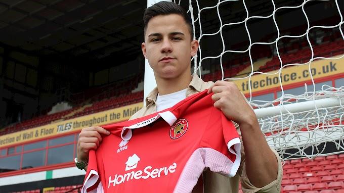 Cockerill-Mollett Enjoying Telford United Loan Spell