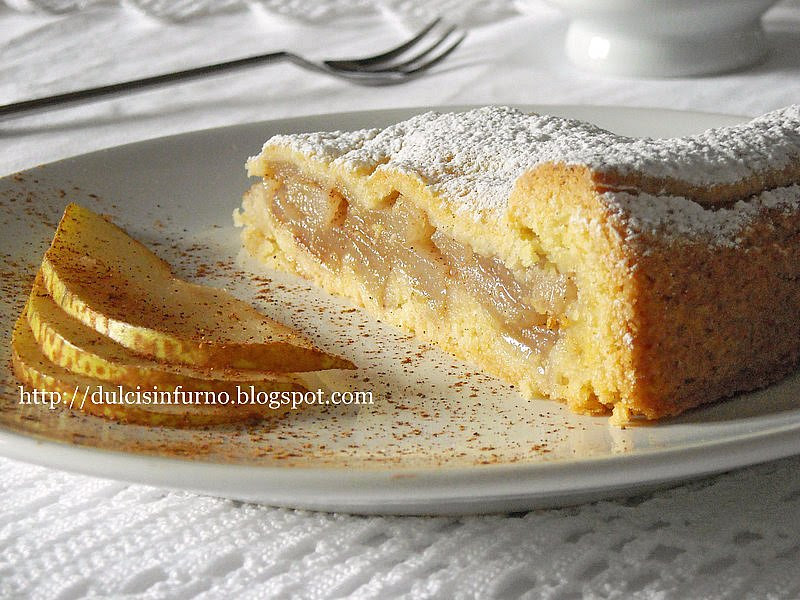 Crostata Rustica alle Pere-Rustic Pear Tart