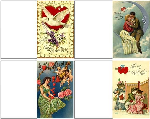 *Life in Miniature*: New Valentine's Day Miniature Printables!