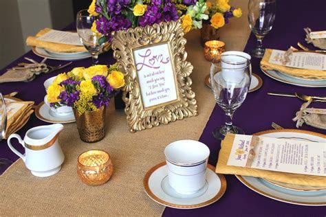 10 Fantastic Purple And Yellow Wedding Ideas 2019