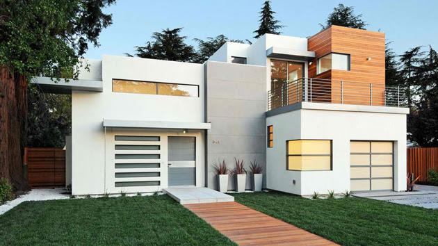 20 Contemporary Attached Garage Design | Home Design Lover
