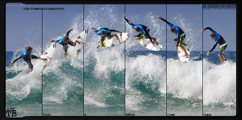 Surfer Malaga - Taj Burrow