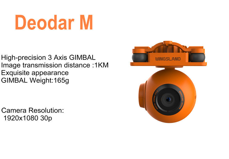 Wingsland Scarlet 3Axis Gimbal Camera