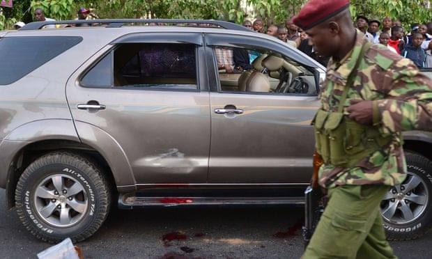 Breaking News-Kenyan MP shot dead in centre of Nairobi